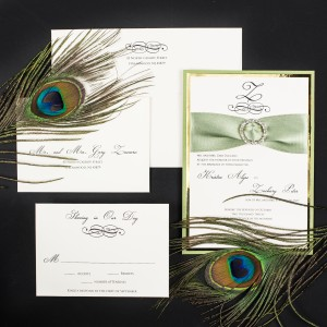 sage wedding invitations