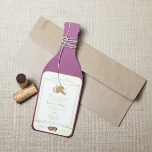 wine rehearsal dinner invitations