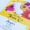 daisy birthday invitations