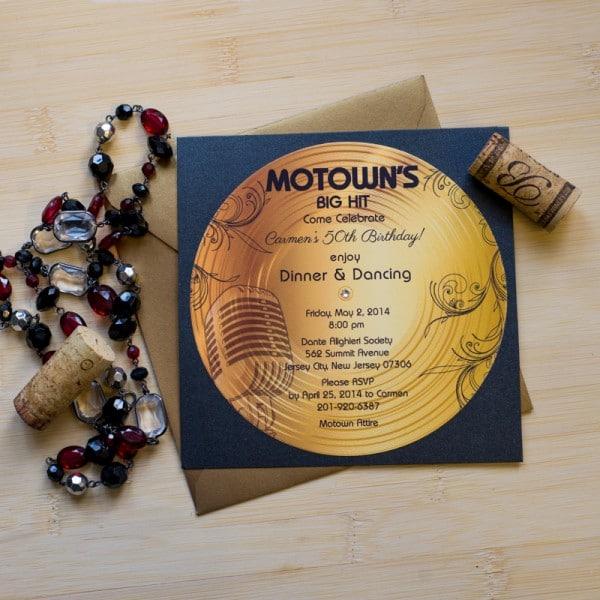 motown retirement invitations