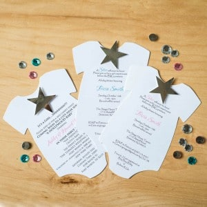 a star is born hollywood baby shower invitations