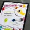 monster birthday invitations