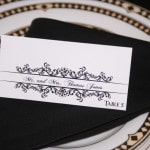 Classic Wedding Place Cards 1