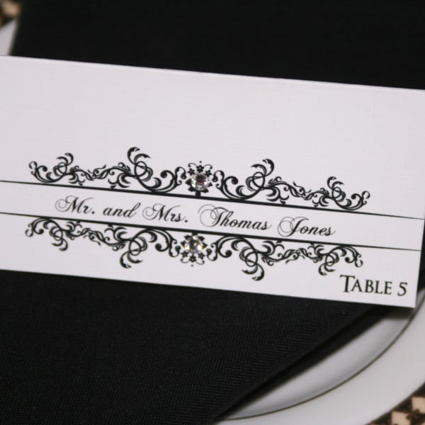 Classic Wedding Place Cards 4