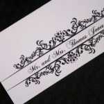 Classic Wedding Place Cards 5