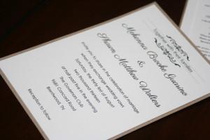 Shabby Chic Wedding Invitations 5
