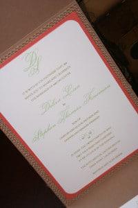 Vintage Destination Wedding Invitations 11
