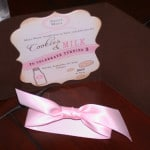 Cookies and Milk Birthday Invitation 2