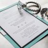 tiffany themed bridal shower invitations