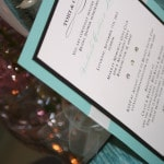 Tiffany theme bridal shower invitations 3