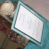 Tiffany theme bridal shower invitations 4