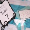 Tiffany theme bridal shower invitations 5