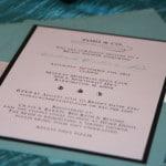 Tiffany theme bridal shower invitations 6