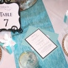 Tiffany theme bridal shower invitations 8