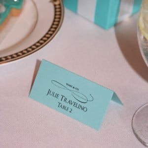 Tiffanys Bridal Shower Place Cards 1