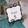 Tiffanys Bridal Shower Table Numbers 4