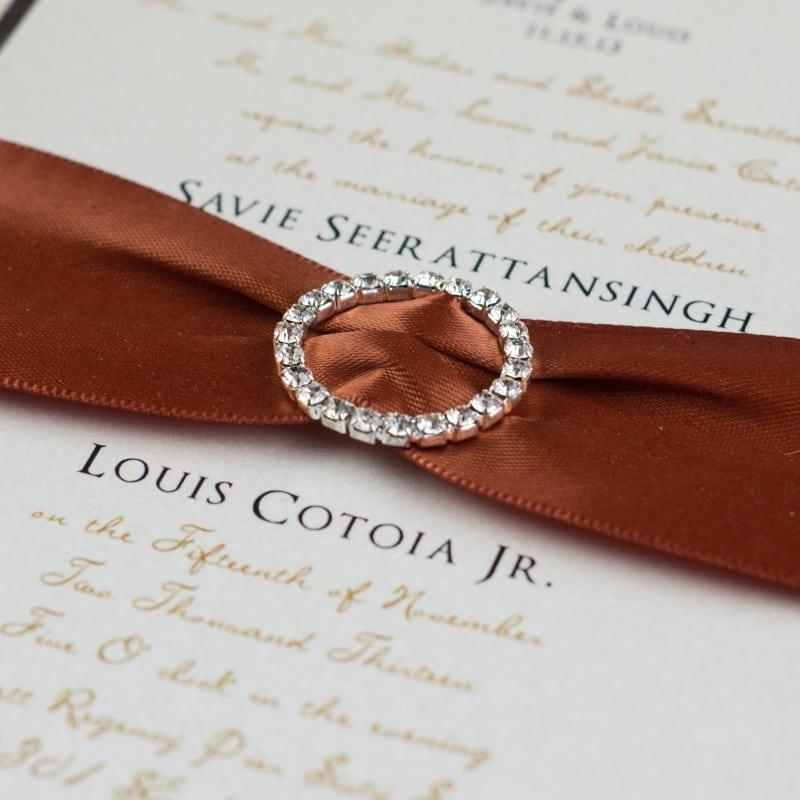 Calla Lily Wedding Invitations - Too Chic & Little Shab Design ...
