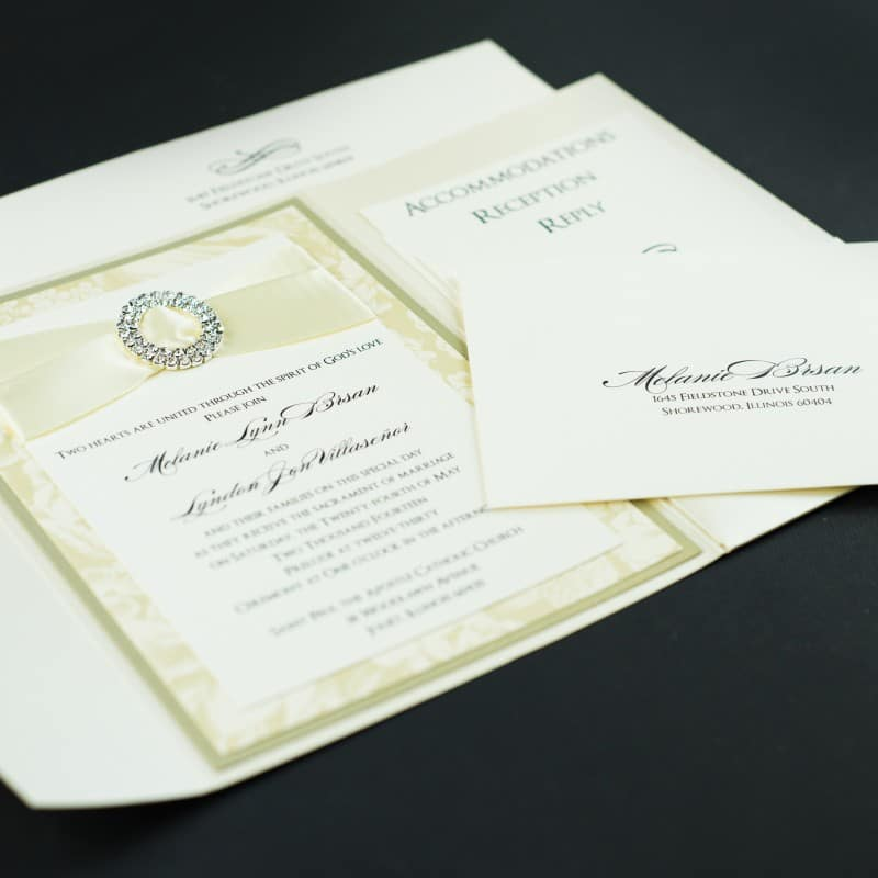 champagne wedding invitations - too chic & little shab design, Wedding invitations