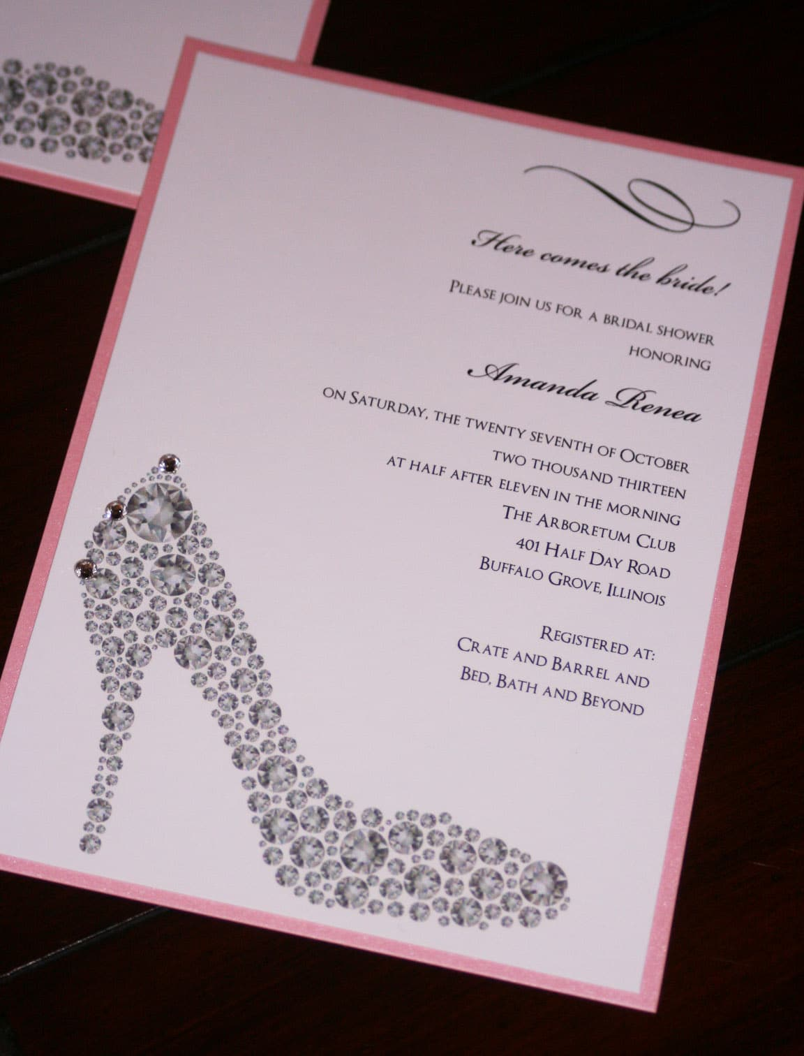 Bridal Shower Invitations: Bridal Shower Invitations Text