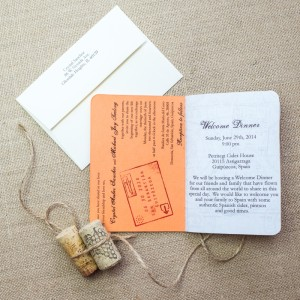Spain passport invitations