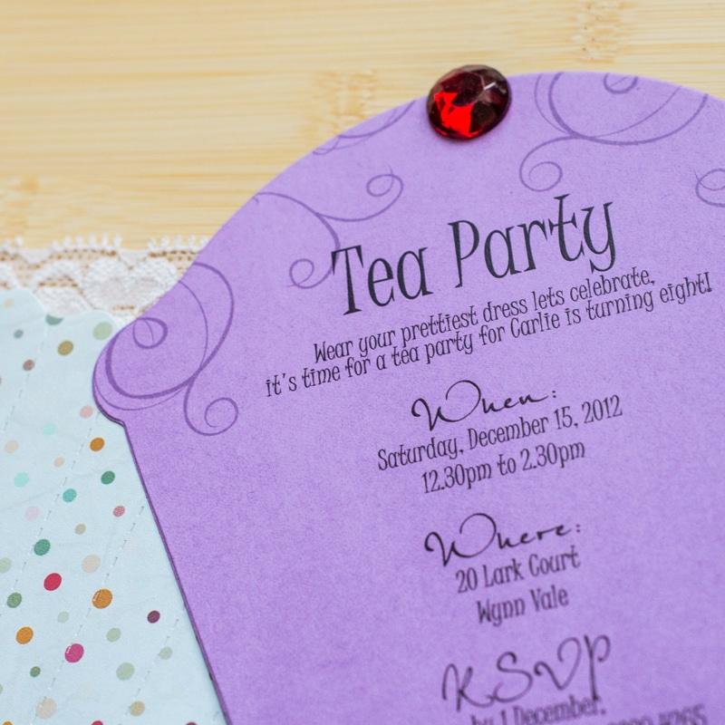 Cupcake Birthday Invitations - Too Chic & Little Shab Design ...