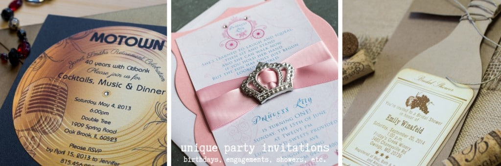 unique party invitations