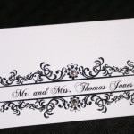 Classic Wedding Place Cards 2