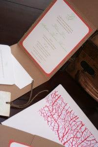 Vintage Destination Wedding Invitations 1