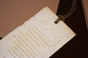 Vintage Destination Wedding Invitations 14