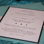 Tiffany theme bridal shower invitations 6