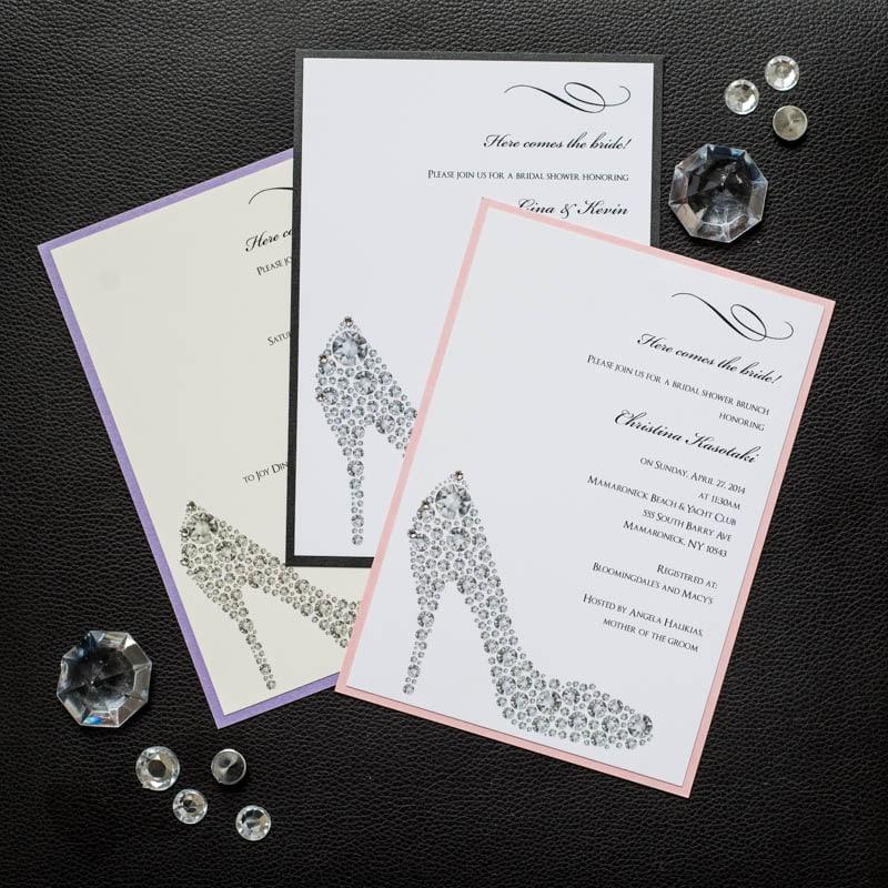Tiffany themed bridal shower invitations too chic little shab shoe bridal shower invitations 350 filmwisefo