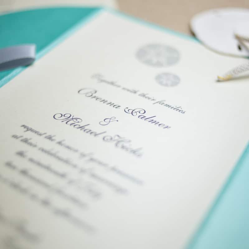 Excellent Sand Dollar Wedding Invitations - Too Chic & Little Shab Design  NV94
