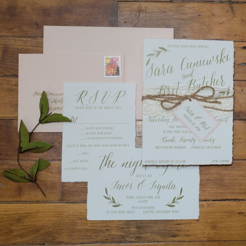 Rustic Chic Wedding Invitations Rustic Vineyard Wedding Invitations